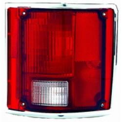 TAIL LAMP LH 78-91 W/CHRM