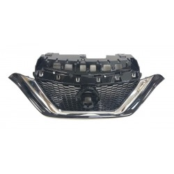 GRILLE 14-19 NOTE BLK