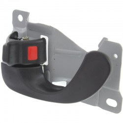 DOOR HANDLE IN LH 97-02 BLK