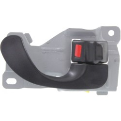DOOR HANDLE IN RH 97-02 BLK